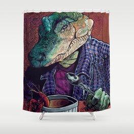What's in the Gumbo Shower Curtain