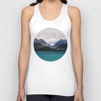 alaska Tank Tops featuring Alaska Wilderness by Leah Flores