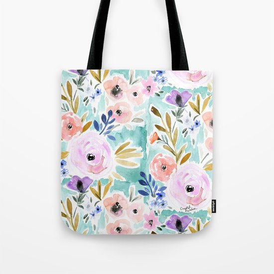Willow Floral Tote Bag