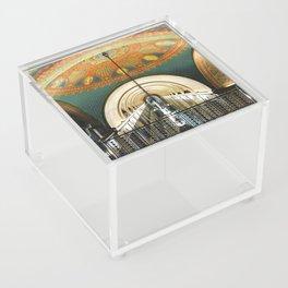 Art Deco Fisher Building Downtown Detroit Acrylic Box