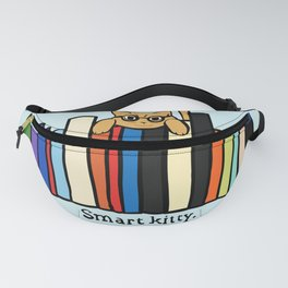 Smart kitty: great gift for writers who love cats! Fanny Pack