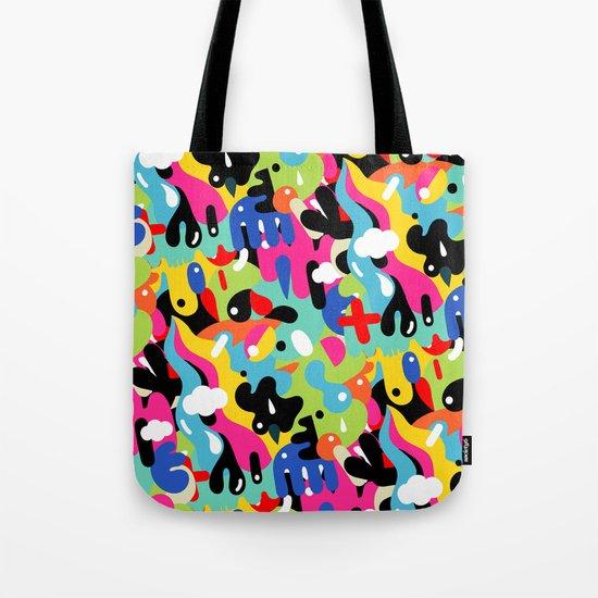Color blobs Tote Bag