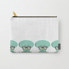 Hipster Squidward Carry-All Pouch