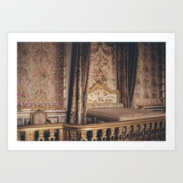La Chambre de Marie Antoinette Art Print