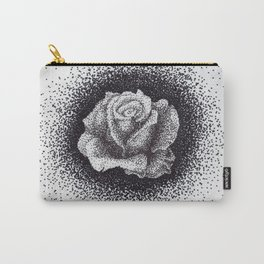 Pointed Rose Carry-All Pouch