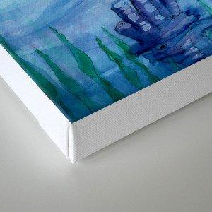 Bitty Sea Turtles Canvas Print