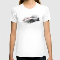 racing T-shirts featuring racing car by tatiana-teni