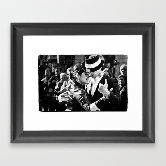 Tango Couple  Framed Art Print