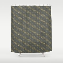 Hadley Cells Shower Curtain