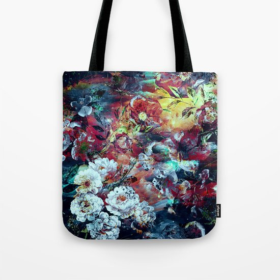 RPE SEAMLESS FLORAL VII Tote Bag