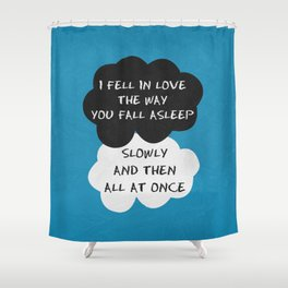 The Fault 04 Shower Curtain