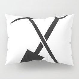 shovel and pickaxe Pillow Sham