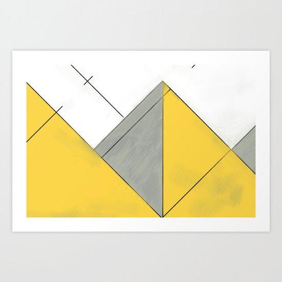 Sketch. (Nile #1) Art Print