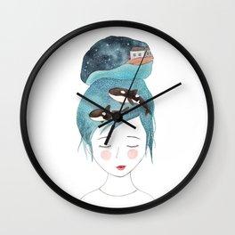 Magic in my head Wall Clock
