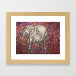 psychadelephant Framed Art Print