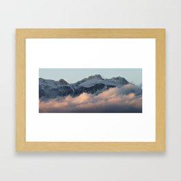 The Alps 5 Framed Art Print