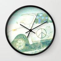 bug Wall Clocks featuring ♥ BUG by RDelean