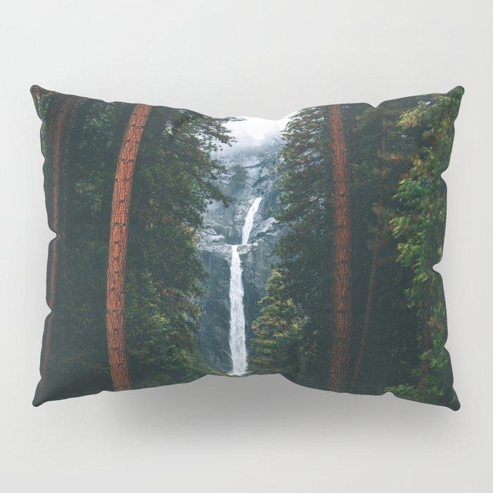 Yosemite Falls - Yosemite National Park, California Pillow Sham