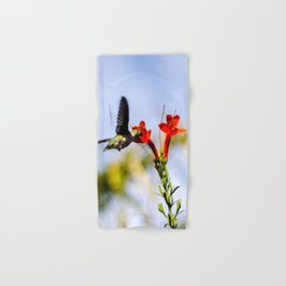 Palm Springs Hummingbird Hand & Bath Towel
