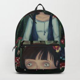 alone in the forest Backpack