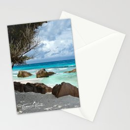 TURQUOISE TRANQUILITY Stationery Cards