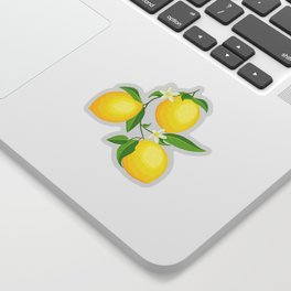 You're the Zest - Lemons on White Sticker