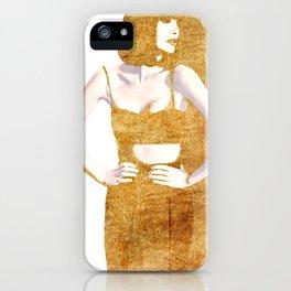 Nina iPhone Case