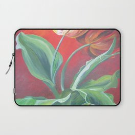 Red and Yellow Tulips Laptop Sleeve