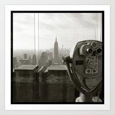 'EMPIRE 2012' Art Print