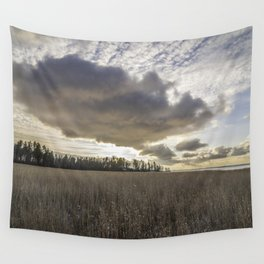 Clouds Above Us Wall Tapestry