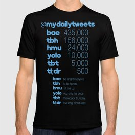 My Daily Tweets T-shirt