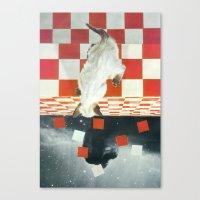vertigo Canvas Prints featuring Vertigo by Peter Campbell