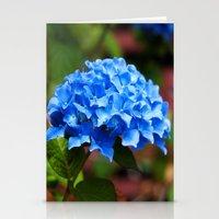 hydrangea Stationery Cards featuring Hydrangea by Mark Alder