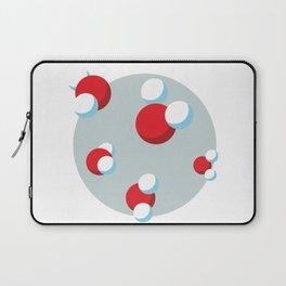 Water Molecules Laptop Sleeve