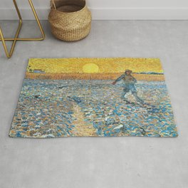 Van Gogh : The Sower (Sower with Setting Sun) Rug