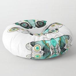 Moths Floor Pillow