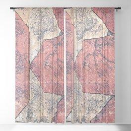 Tessellated Terrace Sheer Curtain
