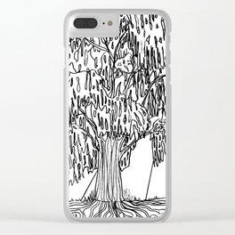 Acacia Clear iPhone Case
