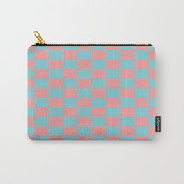 Pink spring pattern Carry-All Pouch