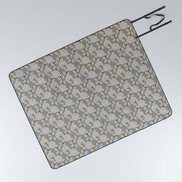 MAYA - Grey & Yellow Picnic Blanket