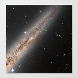 Spiral Galaxy NGC 891 Canvas Print