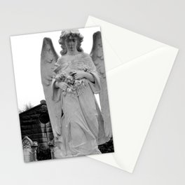 Angel Watching Over Me Stationery Cards