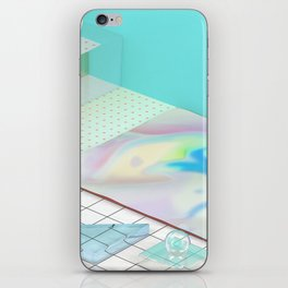 The Girl With X-Ray Eyes iPhone Skin