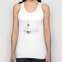 flower of life Tank Tops featuring flower by Ingrid Beddoes