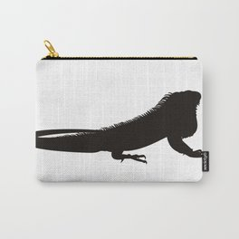 Giant Lizard Silhouette Carry-All Pouch