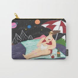 Vacation In Outer Space Carry-All Pouch