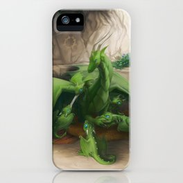 Preoccupied Progenitor iPhone Case