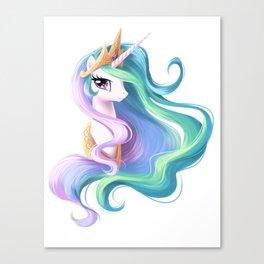 Beautiful unicorn drawing Canvas Print