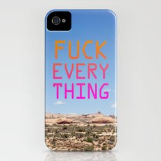 Fuck Everything Slim Case iPhone (4, 4s)