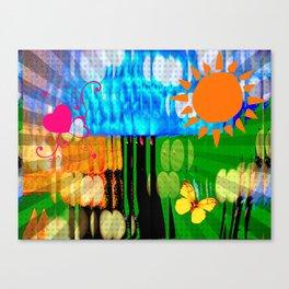 Mad Podge Canvas Print